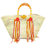 Enshallah Shopping Basket Orange & Yellow