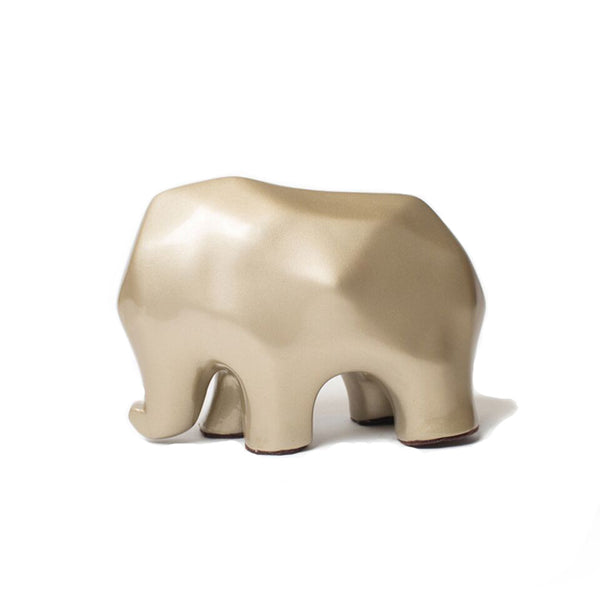 Nassara Design Elephant Assala Resin Gold