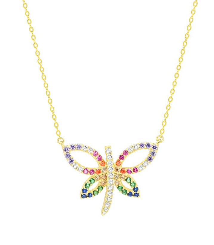 DRAGONFLY COLOR necklace