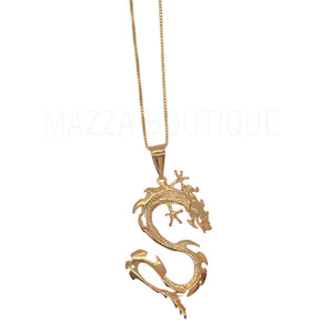 DRAGON V necklace