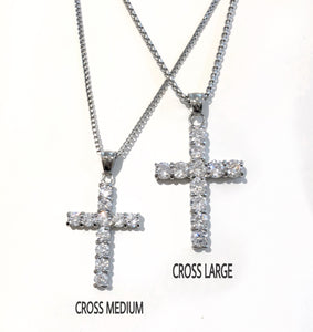 CROSS LARGE necklace