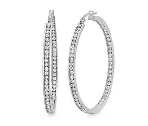 LE MEZZ HOOP earrings