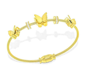 BUTTERFLY CABLE bangle