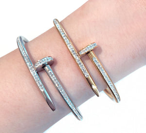 NAIL CRYSTAL bangle