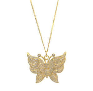 SOFIA BUTTERFLY necklace