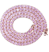 Load image into Gallery viewer, KRYSTLE PINK necklace