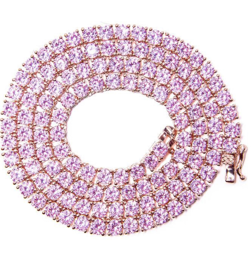 KRYSTLE PINK necklace