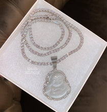 Load image into Gallery viewer, BUDDHA SILVER KRYSTLE set