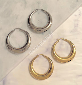 ADELINA HOOP earrings