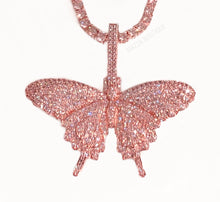 Load image into Gallery viewer, BUTTERFLY EFFECT PINK necklace
