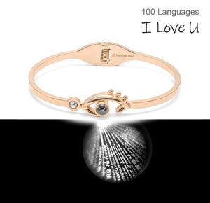 EYE 3D I LOVE YOU bangle