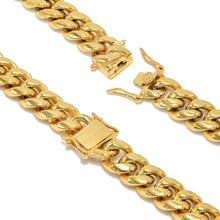 Load image into Gallery viewer, THE CUBAN STEEL 12mm chain