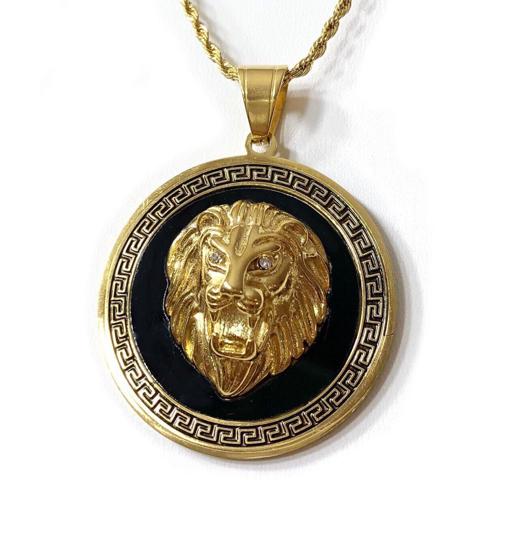 LION HEAD II necklace