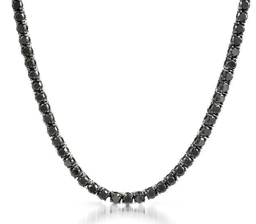 KRYSTLE II BLACK necklace
