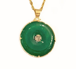 DRAGON REVERSIBLE JEWEL JADE necklace