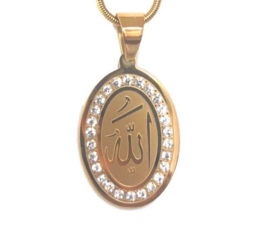 ALLAH OVAL necklace