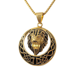 LION HEAD III necklace