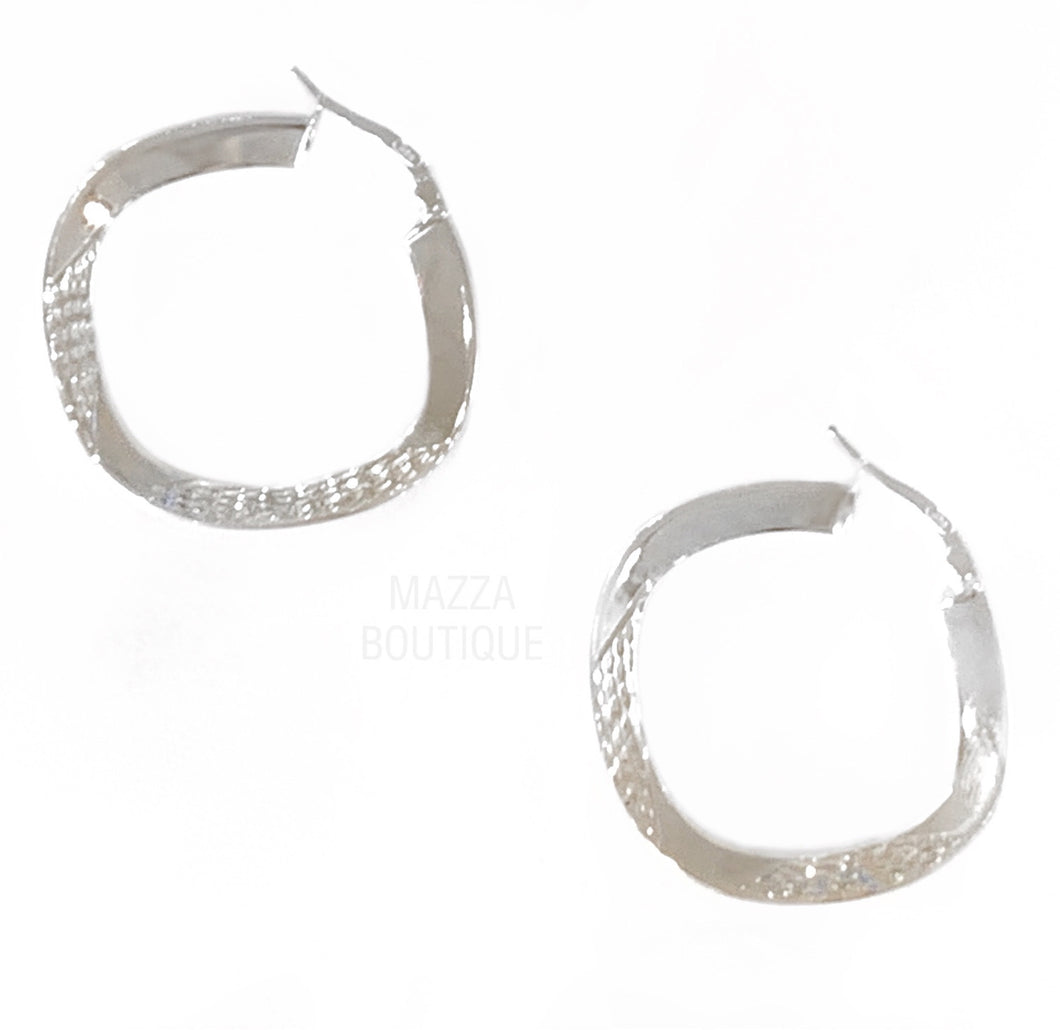 MARINA HOOP earrings