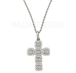 CROSS ROYAL HALO SILVER necklace