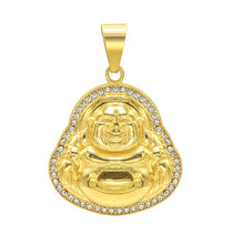 Load image into Gallery viewer, BUDDHA CRYSTAL II necklace