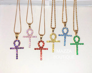 ANKH YELLOW necklace
