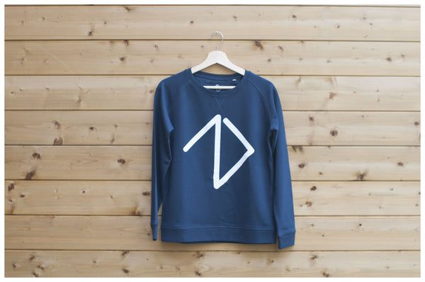 Logo Sweatshirt women - Navy Blue - One More Brand