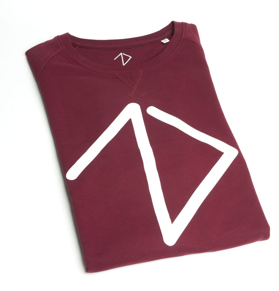 Logo Sweatshirt women - Burgundy - One More Brand