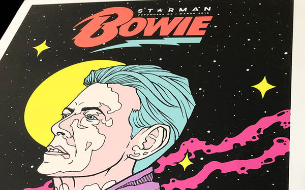 25.03.2021 | Bowie 'Starman' / The Walking Dead new print.