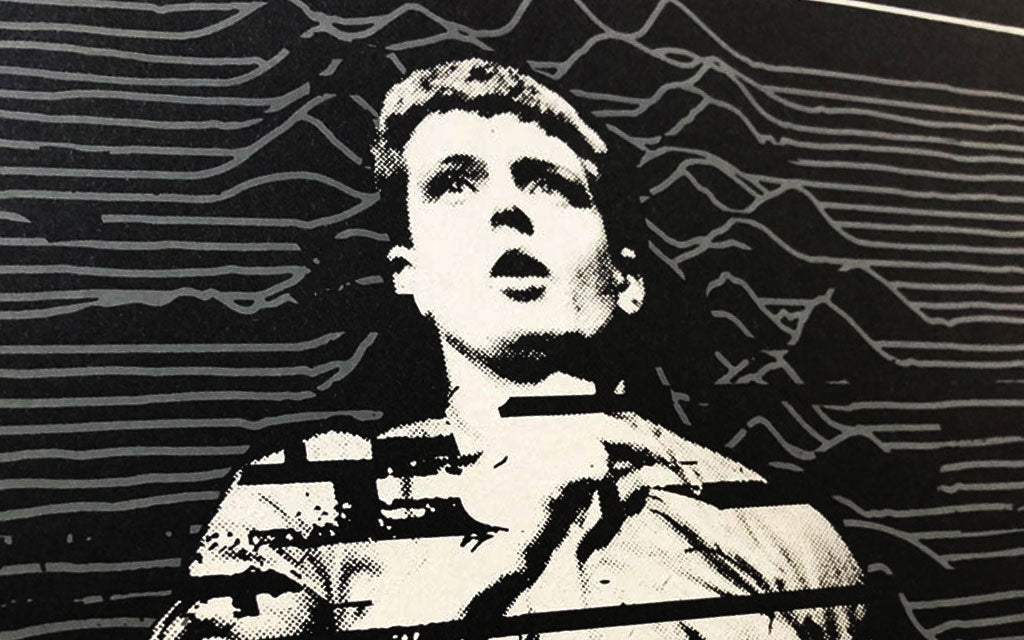 04.02.2021 | Disorder -Joy Division, a screenprint by Apes of Doom