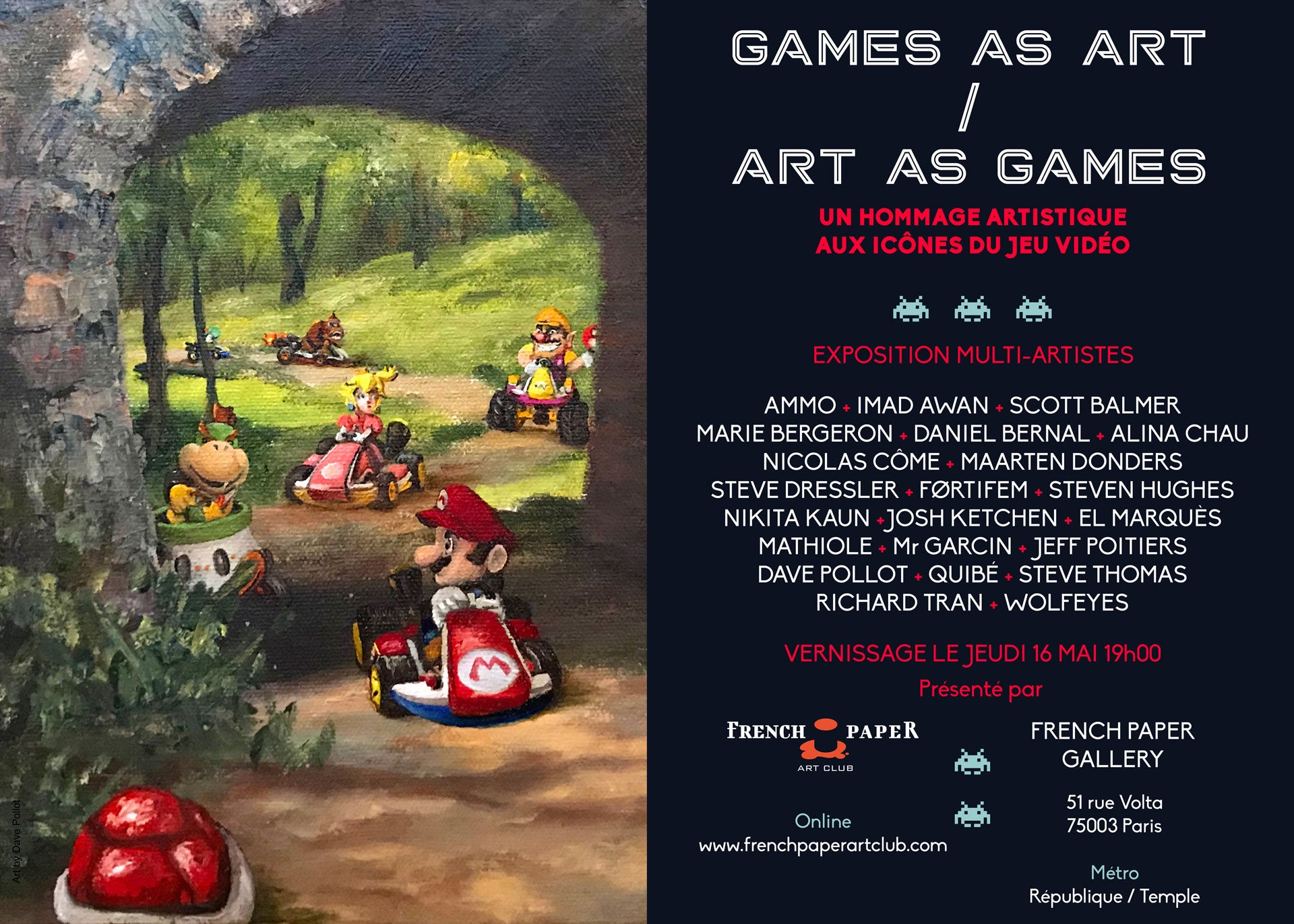 Exposition: Games as Art - Art as Games