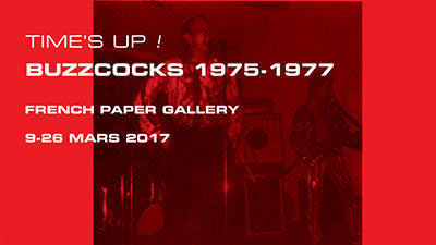 Buzzcocks 1975-1977 French Paper Gallery