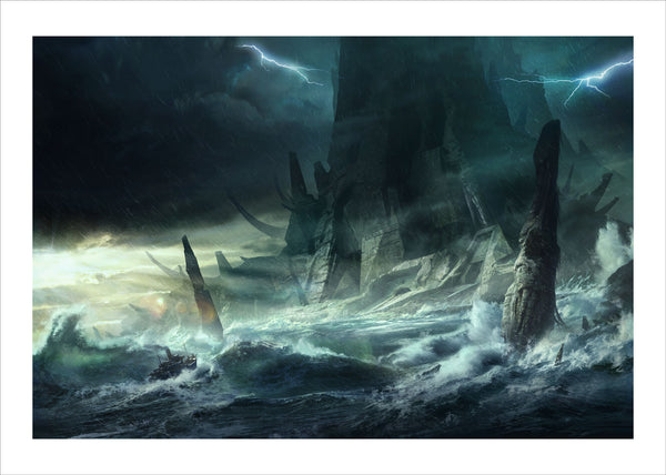 R Lyeh Call Of Cthulhu Illustrated By Francois Baranger