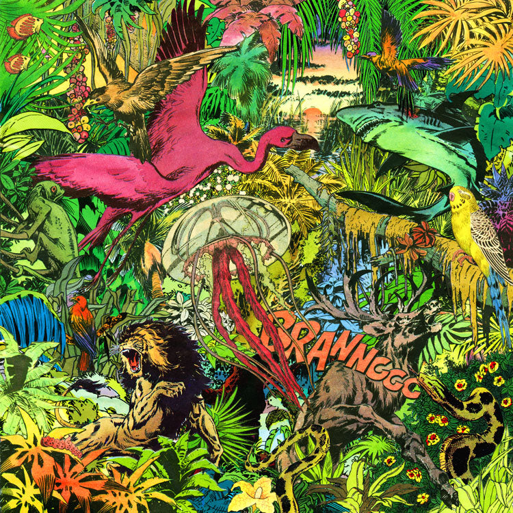 welcome to my jungle new art print by french collage artist m
