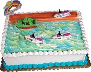 Cake Decorating Kit CupCake Jet Ski