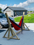 Handmade Wooden Hammock Stand- Nationwide shipping €39 - Rosie & Bailey