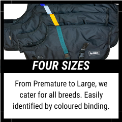 AniMac Waterproof super calf jacket available in four sizes