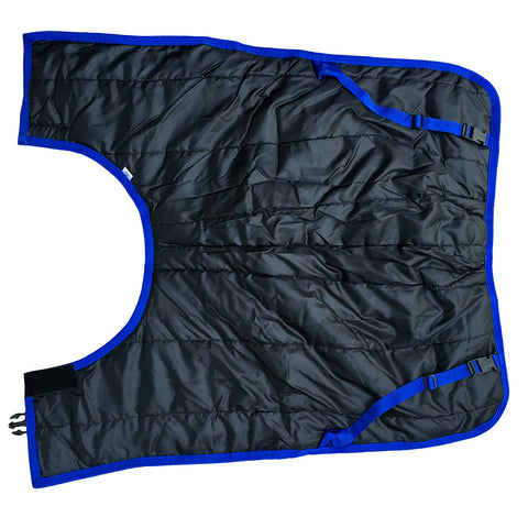 animac super calf jacket. Best in black with waterproof outer calf blanket