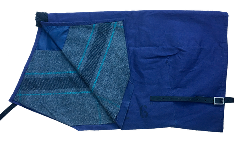 animac canvas calf blanket with wool lining
