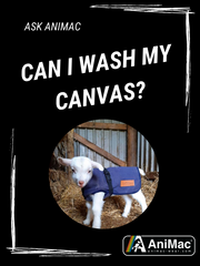 ask animac how do I care or wash my canvas lamb jacket