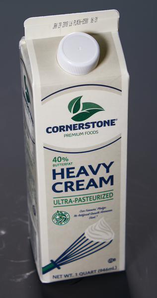 40% Heavy Cream Ultra-Pasteurized