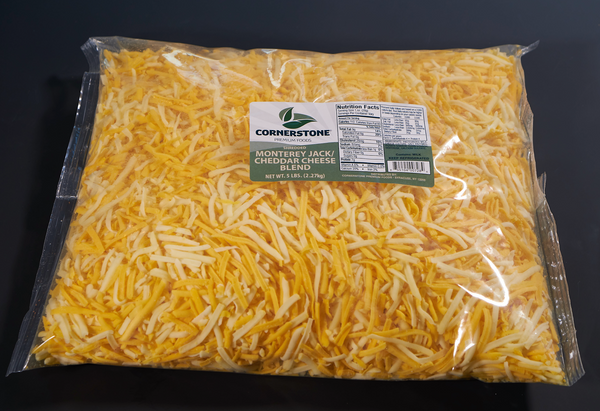 Shredded Monterey Jack/Yellow Cheddar Cheese