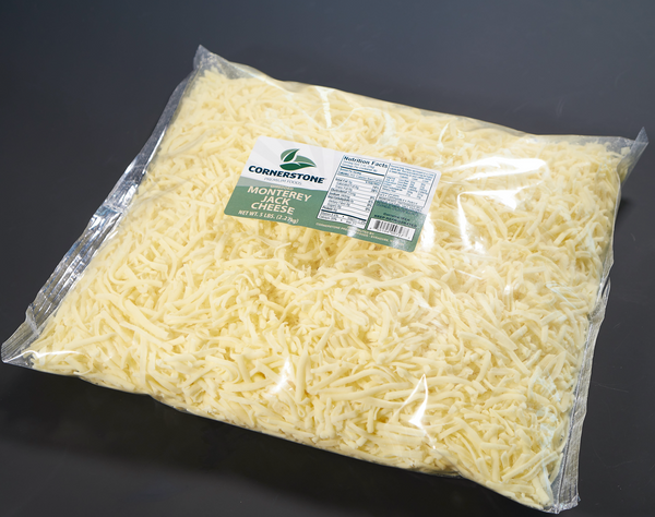 Shredded Monterey Jack Cheese FTHR