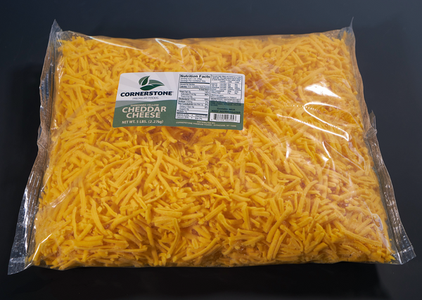 Shredded Yellow Cheddar Cheese FTHR