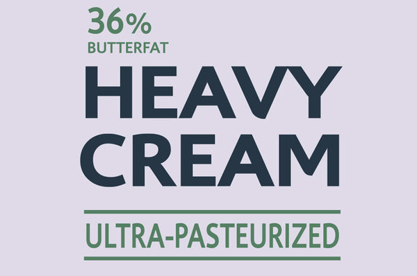 36% Heavy Cream Ultra-Pasteurized