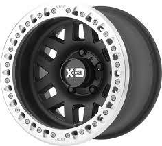 KMC XD229 Machete Crawl Bead Lock Wheels Jeep JK / JKU 2007 - 2018