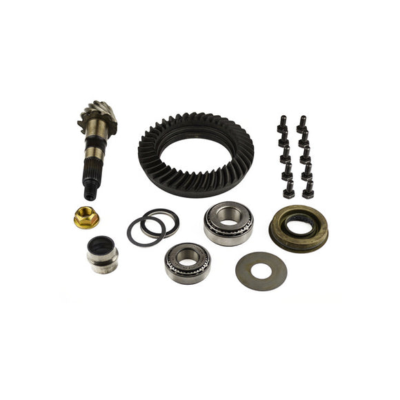 Dana 30 Ring and Pinion Low Pinion Short Pinion 4.56 Thin With Install Kit Uses 3.73 and Up Carrier
