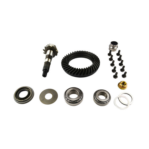 Dana 30 Ring and Pinion Low Pinion Short Pinion 3.73 Thin With Install Kit Uses 3.73 and Up Carrier