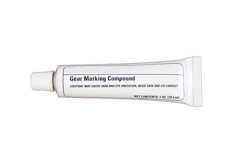 Gear Marking Paint Compound Yellow 1 OZ Squeeze Tube