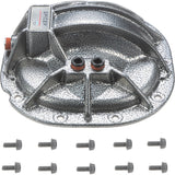 "Ford 8.8"" Rear Nodular Iron Differential Cover With Hardware and Gasket Gray"