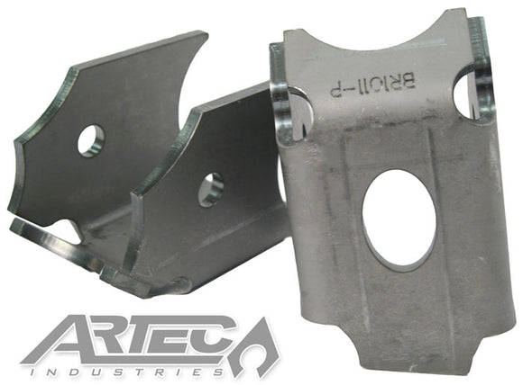 Lower Link Axle Brackets Pair 10 Deg 3.5 Inch Axle Diameter